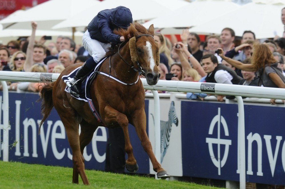 Ruler of the World stuns Epsom Derby favourite Dawn Approach as Ryan Moore rides to victory