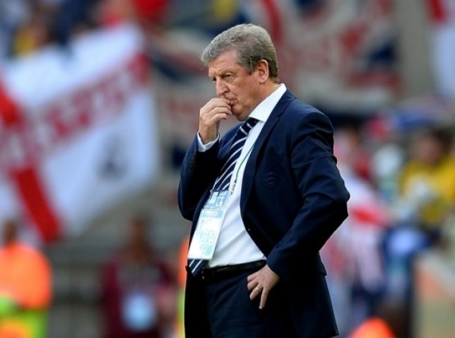 RIO DE JANEIRO, BRAZIL - JUNE 02: Roy Hodgson of England looks on during the International Friendly match between England and Brazil at Maracana on June 2, 2013 in Rio de Janeiro, Brazil.  (Photo by Laurence Griffiths/Getty Images)