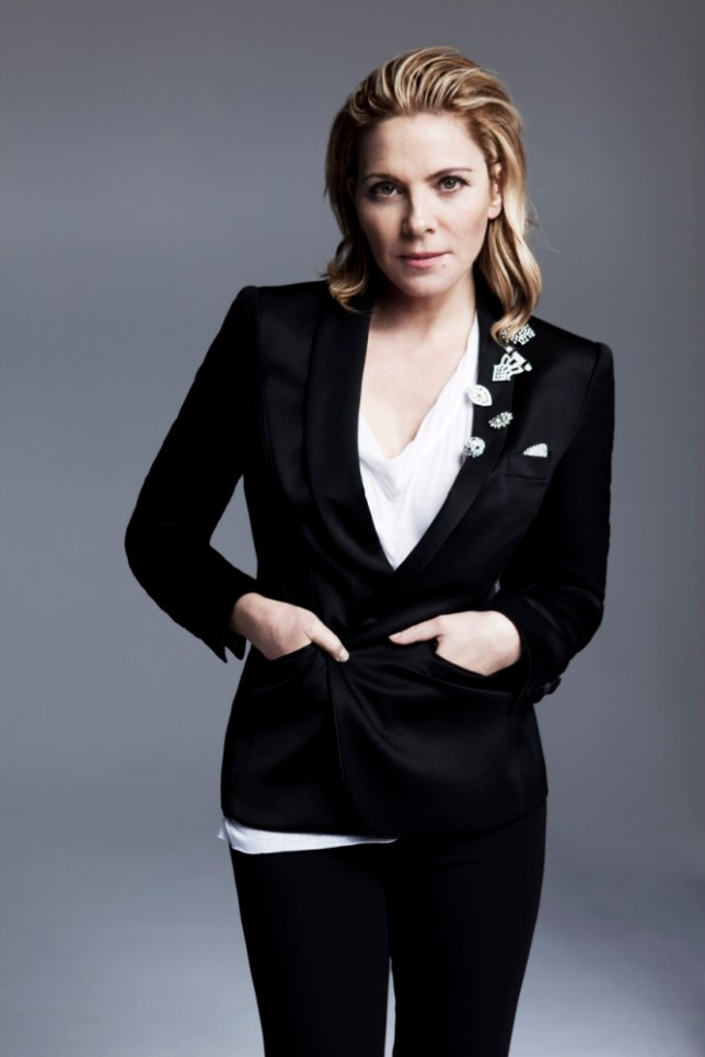 Kim Cattrall is starring in Sweet Bird Of Youth at London's Old Vic (Picture: Kate Orne)
