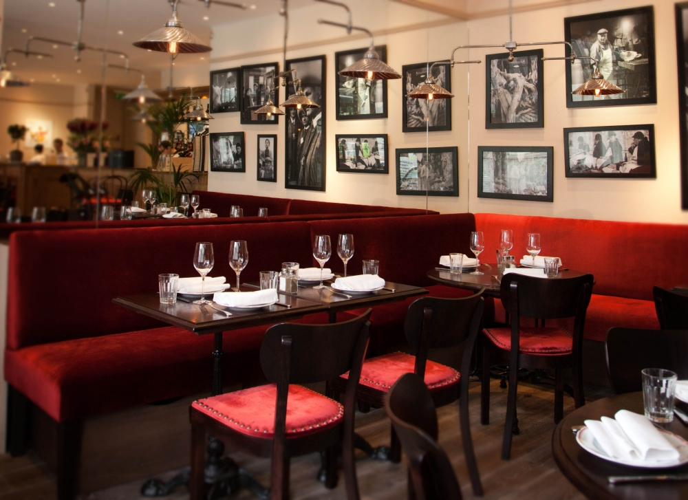 The food at Chabrot Bistrot Des Halles is faultless but the restaurant lacks allure (Picture: supplied)
