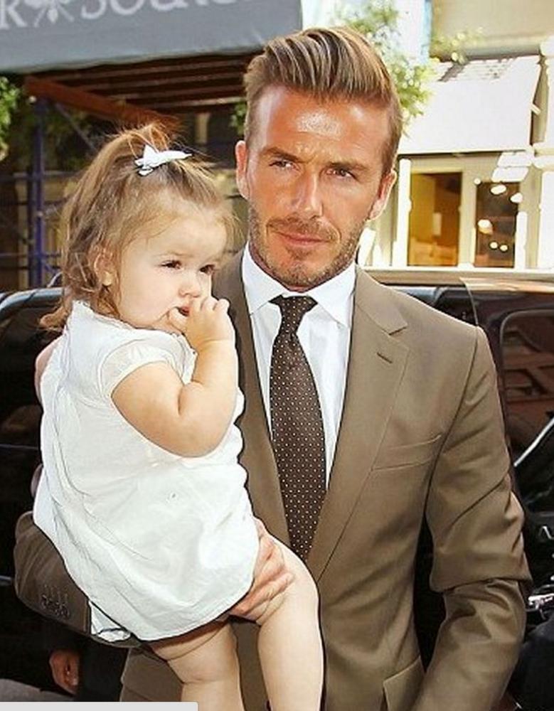 David Beckham: I'll lock my Harper in a tower like Rapunzel to keep men away