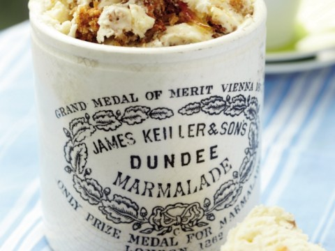How to make Claire Kelsey's marmalade on toast ice cream