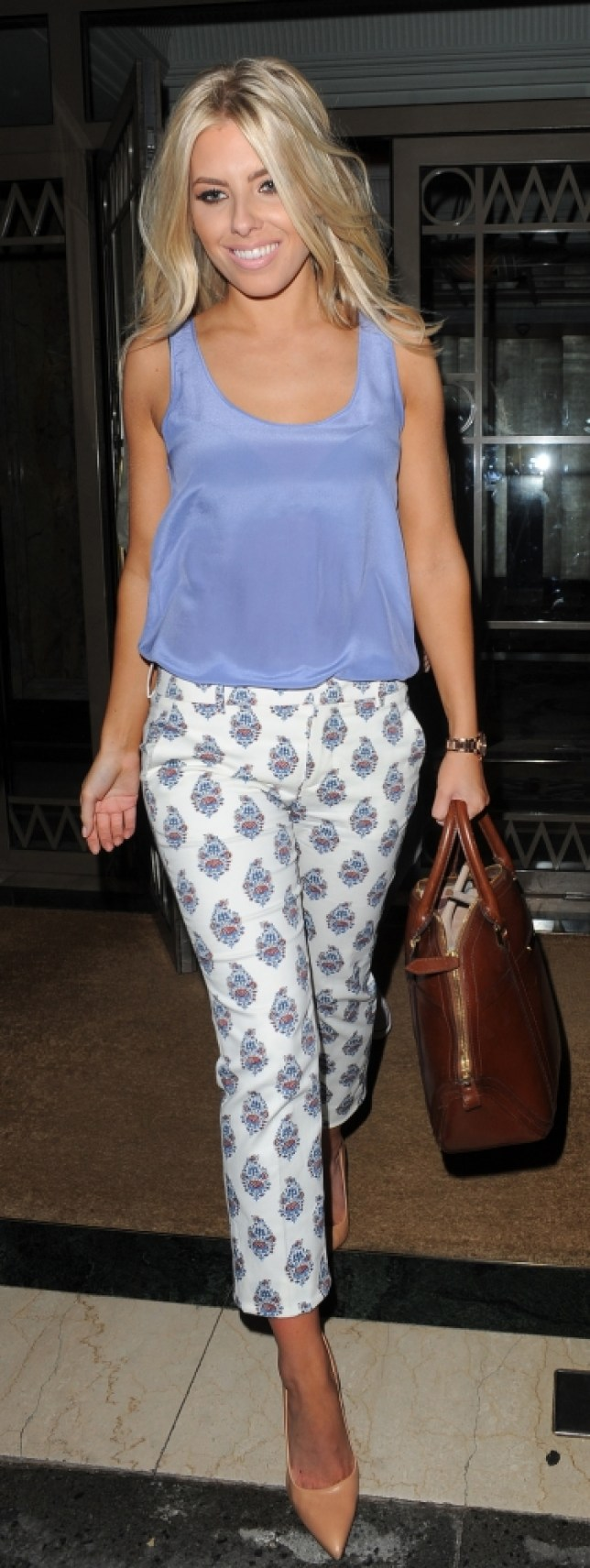 Mollie King from girl group The Saturdays (Picture: Squirrel/Splash News)