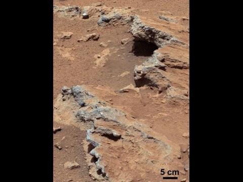 Nasa's Mars Curiosity rover reveals stream ran through Gale Crater