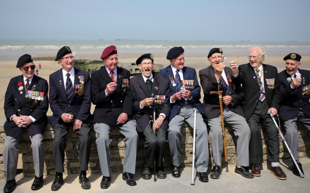 Gallery: Normandy Veterans Gather For The 69th Anniversary Of D-Day