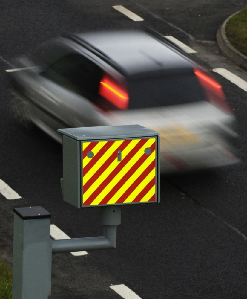 File photo dated 13/01/06 of a car passing a speed camera as speed cameras reduce the number of fatal and serious collisions in the areas they are installed by more than a quarter, a study found. PRESS ASSOCIATION Photo. Issue date: Friday June 7, 2013. The RAC Foundation studied 551 fixed cameras in nine areas of England and found that such incidents dropped by 27% after speed cameras were put in place. But the research found that at 21 camera sites the number of collisions appeared to have increased. The foundation has written to 11 local authorities to find out why and to suggest they examine whether the cameras should be moved. See PA story TRANSPORT Cameras. Photo credit should read: Danny Lawson/PA Wire