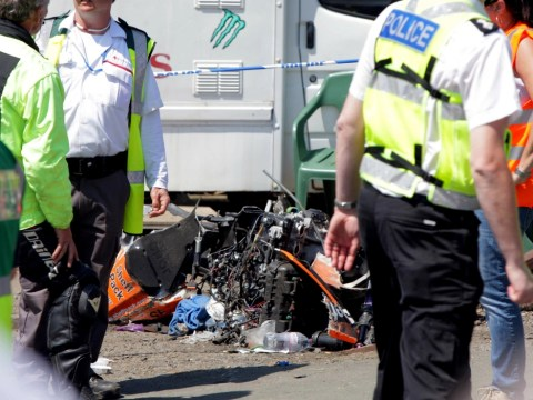 Isle of Man TT crash: 11 injured after bike 'crashes into watching crowd'