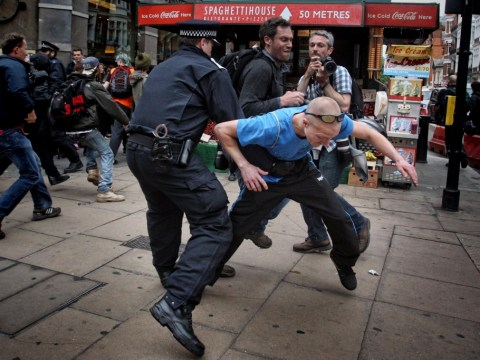 Police defend 'proportionate' G8 protest response