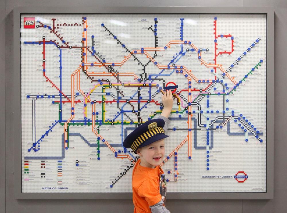Gallery: Lego Tube maps unveiled on the London Underground