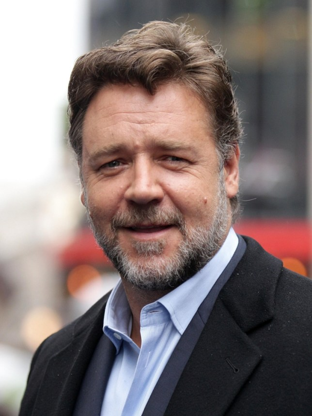 Russell Crowe arriving for the European premiere of Man of Steel at the Odeon Leicester Square, London. PRESS ASSOCIATION Photo. Picture date: Wednesday June 12, 2013. Photo credit should read: Yui Mok/PA Wire