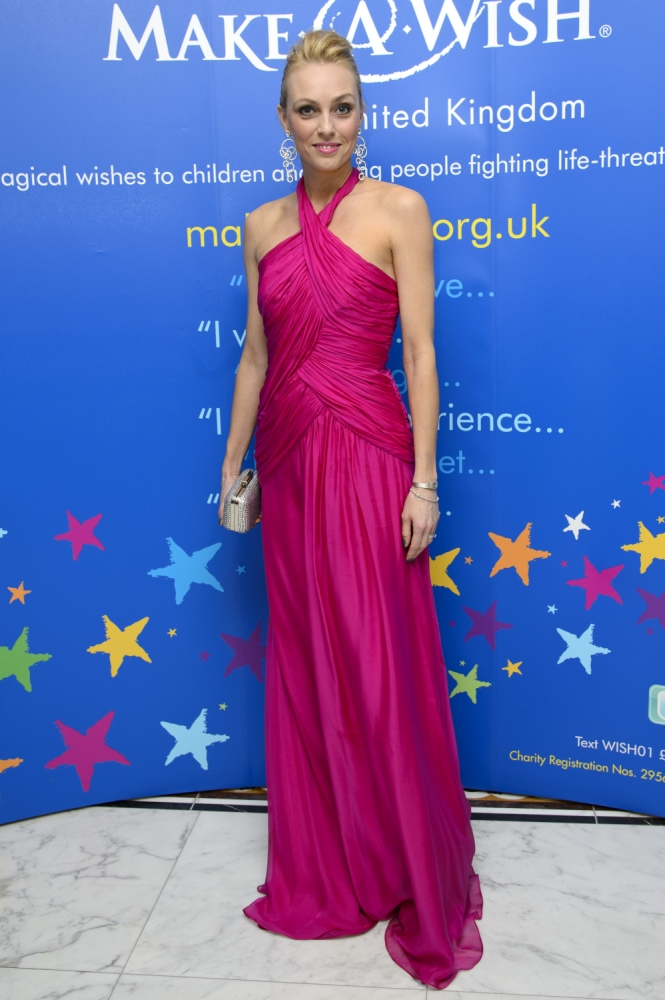 Camilla Dallerup is taking on the Race For Life challenge for Cancer Research UK (Picture: Getty)