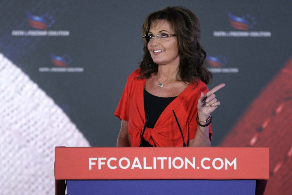 Syrian civil war: Sarah Palin says 'let Allah sort it out'