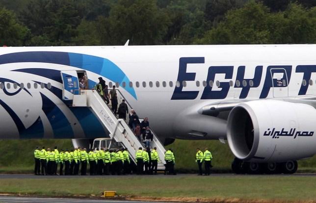 Egyptair, Glasgow, threat