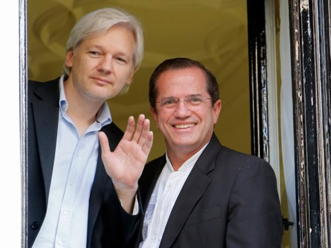 Julian Assange: I could be walking out of Ecuador embassy within a year