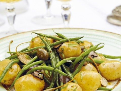 How to make Tori Finch's salad of truffled French beans