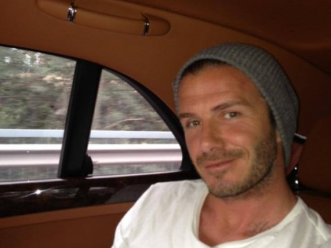 David Beckham joins in the 'selfie' love as he shares intimate snap with fans on Facebook