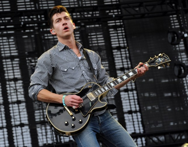 INDIO, CA - APRIL 13:  Musician Alex Turner of the Arctic Monkeys performs onstage during day 1 of the 2012 Coachella Valley Music & Arts Festival at the Empire Polo Field on April 13, 2012 in Indio, California.  (Photo by Kevin Winter/Getty Images for Coachella)