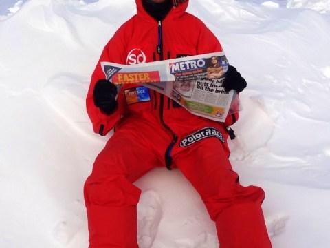 Metro reader Paul Gurney takes paper on Arctic trek before running 160 miles through Sahara