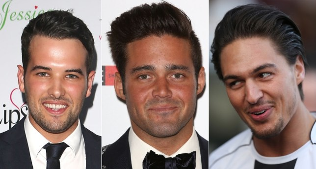 TOWIE cheat Mario Falcone has been giving his Made In Chelsea counterpart Spencer Matthews a run for his money in recent weeks (Picture: ITV2)