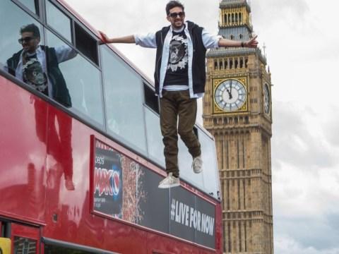 Revealed: The secrets behind magician Dynamo's London bus levitation trick