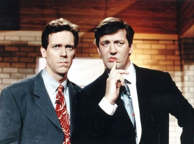 Image result for hugh laurie fry and laurie