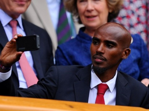Wimbledon 2013: Mo Farah is in hot water for filming on Centre Court