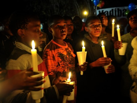 Supporters of Nelson Mandela ask: Pray for a recovery or peace?