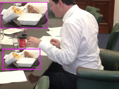 George Osborne defends gourmet burger choice after Twitter backlash