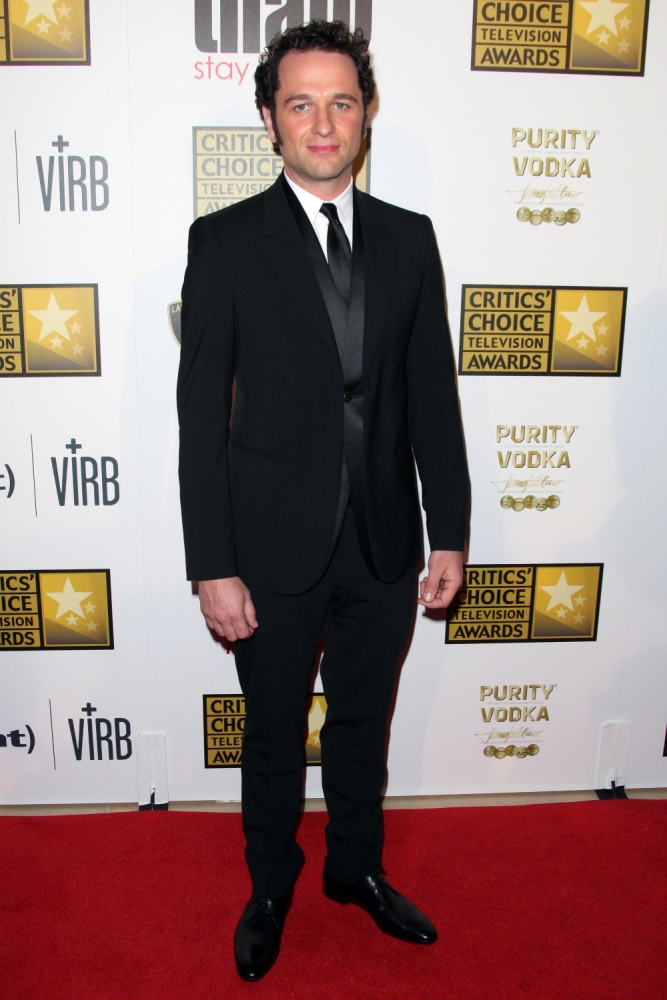 Matthew Rhys says he's part of a community of ex-pat alcoholics in LA (Picture: WireImage)
