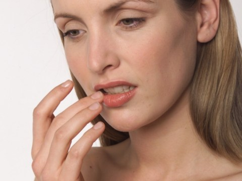 Cold sore cream confusion ends in woman glueing her lips together