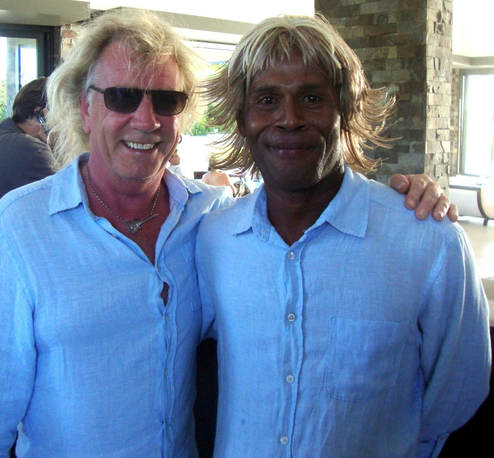 He's my Parfitt double: Status Quo's Rick on how a black actor stood in for him