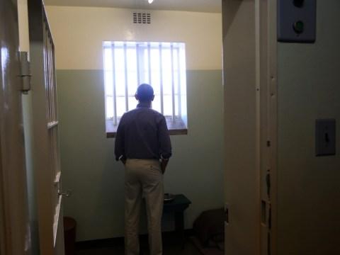 Barack Obama humbled by courage of Nelson Mandela after Robben Island prison visit