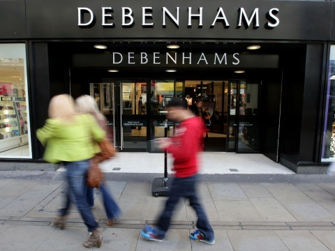 Slow sales for Debenhams but online shopping rises 40%