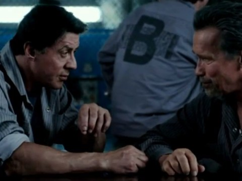 Stallone and Schwarzenegger break out of jail in first Escape Plan trailer