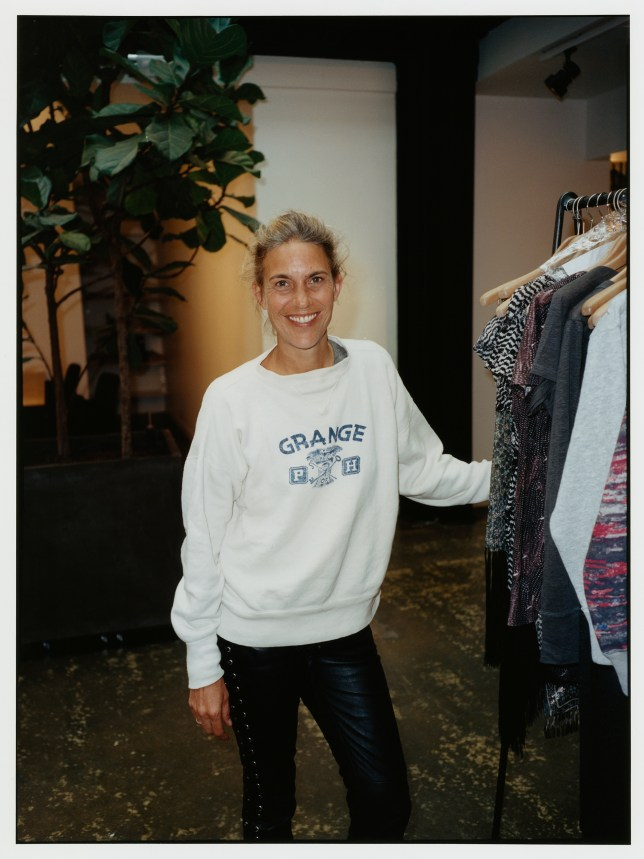 Isabel Marant announces her collaboration with H&M (Picture: H&M)