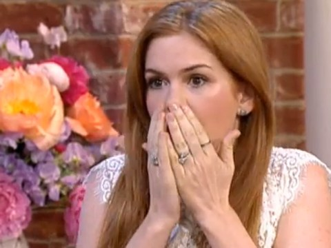Isla Fisher turns This Morning's air blue with unintentional swear word