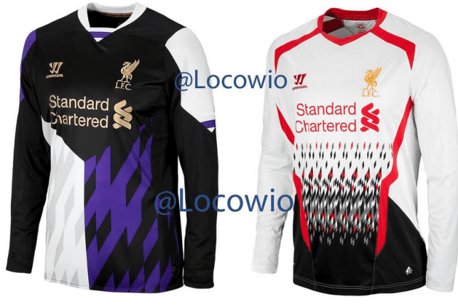 reputable site 2778f 552aa Liverpool kit leak: 'Horrendous' away and third-choice kits ...