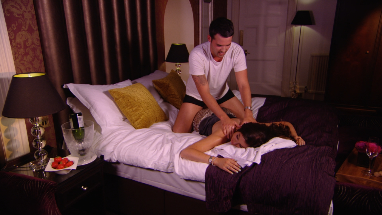 TOWIE's Ricky Rayment and Jess Wright get steamy in the bedroom as Dan Osborne and Lucy Mecklenburgh sex tape rumours swell