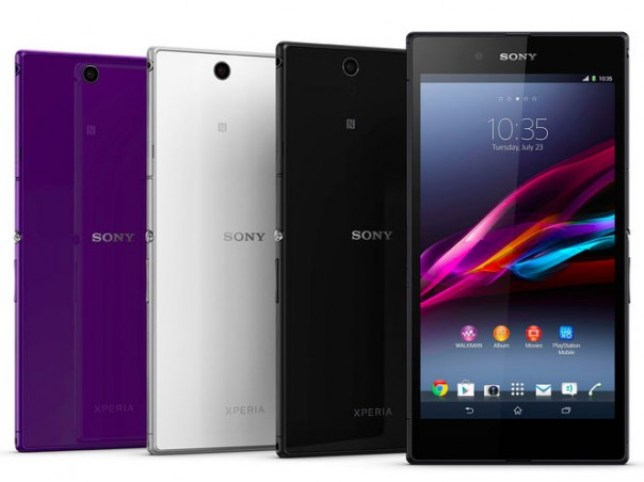 Revealed: Sony Xperia Z Ultra (Picture: Stuff)