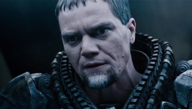 General Zod in Man of Steel