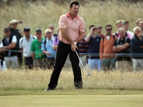 The Open 2013: Sir Nick Faldo, Tom Watson and Fred Couples put on a show for the romantics