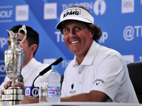 The Open 2013: Phil Mickelson puts on Scottish accent after Muirfield triumph – video
