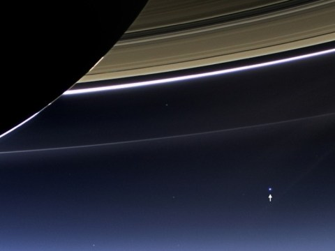 Earth photographed by Nasa probe in Saturn orbit a billion miles away