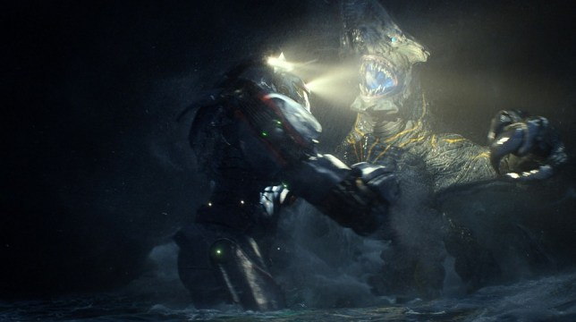 Guillermo Del Toro is getting to work on a Pacific Rim sequel (Picture: AP/Warner Bros)
