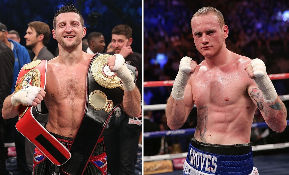 Carl Froch urges George Groves to stand and fight in domestic battle