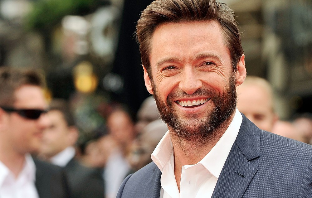 Hugh Jackman looks seriously like Old Man Logan on the Wolverine set