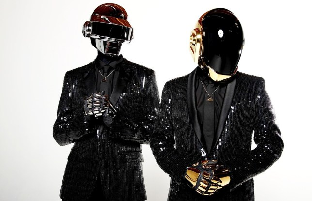 Thomas Bangalter and Guy-Manuel de Homem-Christo from Daft Punk have dominated the charts. Pic: Matt Sayles/Invision/AP