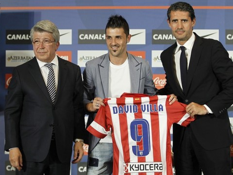 Sorry Tottenham, my Premier League switch was off once Atletico Madrid came calling, says David Villa