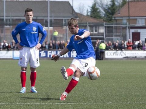 Lightning strikes at Rangers' training ground as David Templeton strikes off Scotland hopes