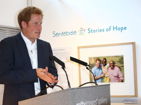 Prince Harry: I will show baby George how to have a good time